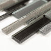 Picture of Dimple Strips Dark Mosaics S3337
