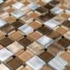 Picture of Platin Bronze Square Mosaics SG002