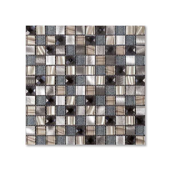 Picture of Crystal Midnight Square Mosaics SG200