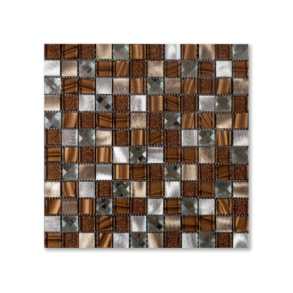 Picture of Crystal Bronze Square Mosaics SG201