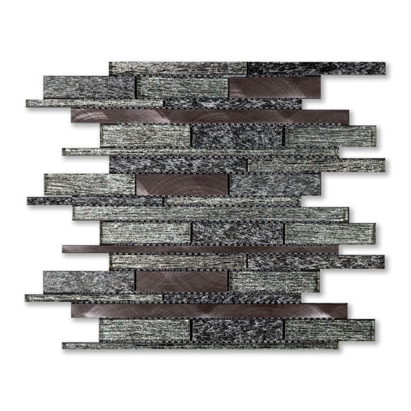 Picture of Mystic Black Strip Mosaics SG210