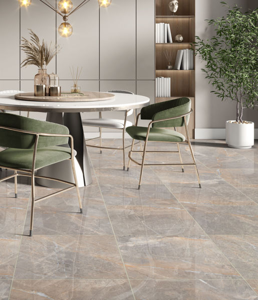 Picture of Alanya Grey Polished Tile 60x60 cm