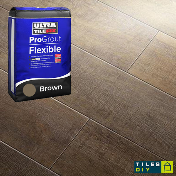 Picture of ProGrout Flexible Brown Grout 3kg