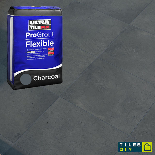Picture of ProGrout Flexible Charcoal Grout 10kg