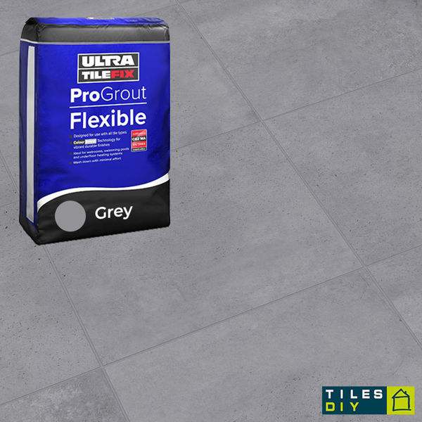 Picture of ProGrout Flexible Grey Grout 10kg