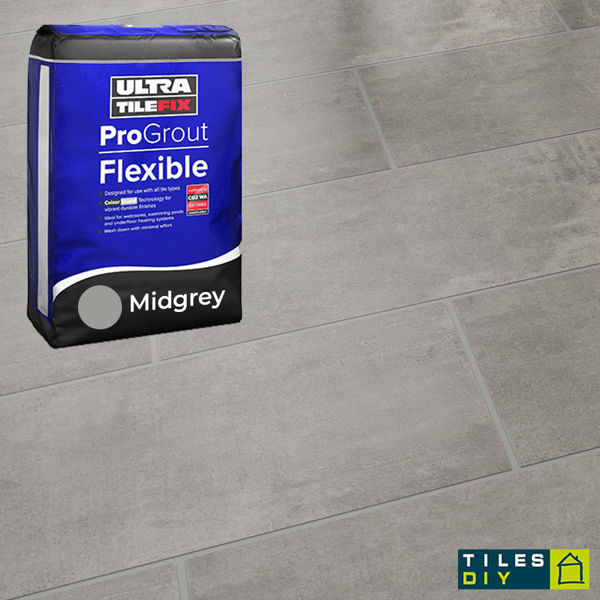 Picture of ProGrout Flexible Mid-Grey Grout 10kg