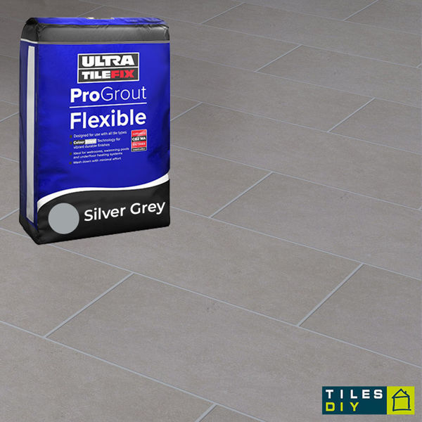 Picture of ProGrout Flexible Silver Grey Grout 10kg