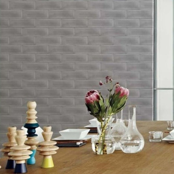 Picture of Calx Grey Polished Tile 10x30 cm