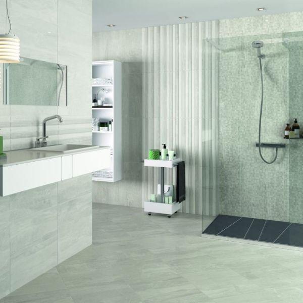 Picture of Windsor Light Grey Polished Tile 25x60 cm