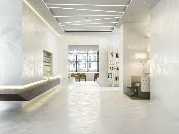 Picture of Materia White Sugar Polished Tile 30x60 cm