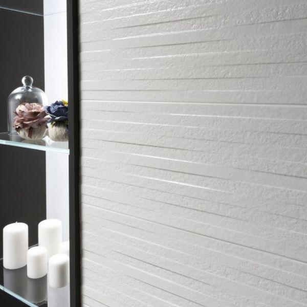 Picture of Serena Stone White Matt Tile 25x60 cm