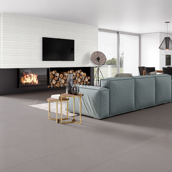 Picture of Smart Lux Grey Sugar Polished Tile 60x60 cm