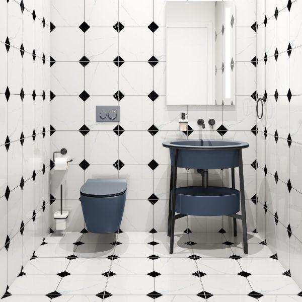 Picture of Atlas Mix Colour Polished Tile 60x60 cm
