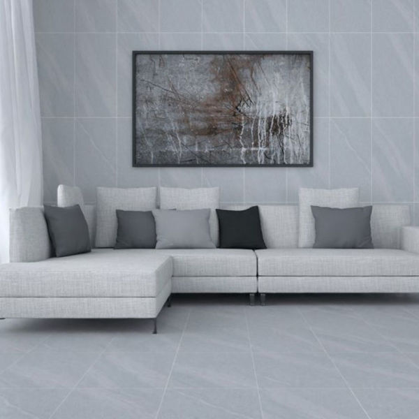 Picture of Tropical Light Grey Matt Tile 30x60 cm
