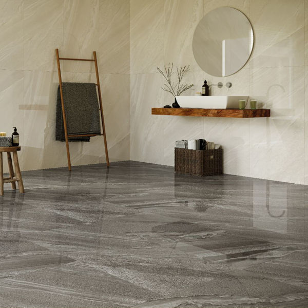 Picture of Crossover Blanco Polished Tile 60x120 cm