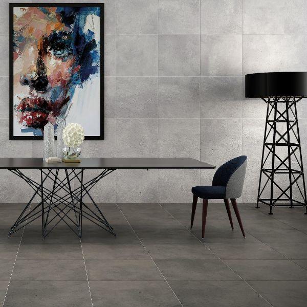 Picture of Earth Grey Matt Tile 60x60 cm
