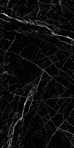 Picture of Pietra Black Polished Tile 60x120 cm