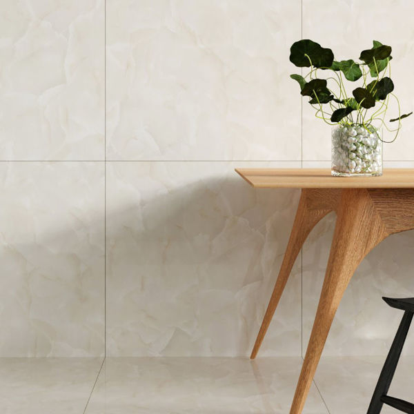 Picture of Topaz White Polished Tile 60x60 cm