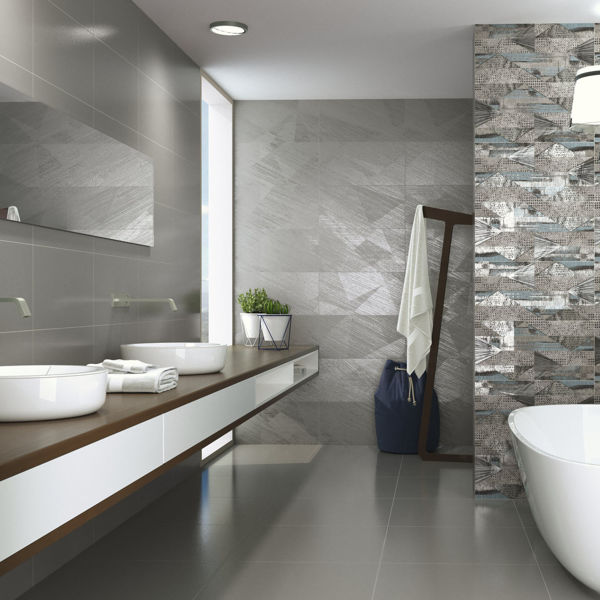 Picture of Materia Grey Sugar Polished Tile 30x60 cm