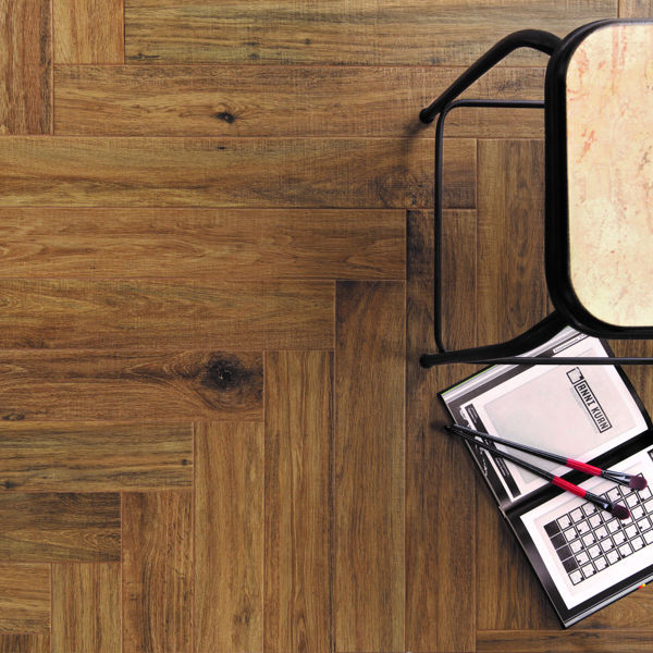 Picture of Woodglam Light Brown Matt Tile 10x70 cm
