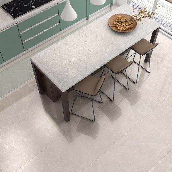 Picture of Grigio White Sugar Polished Tile 60x60 cm