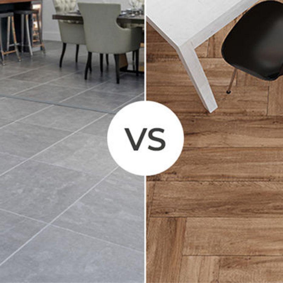 Tile Flooring Vs. Laminate Flooring