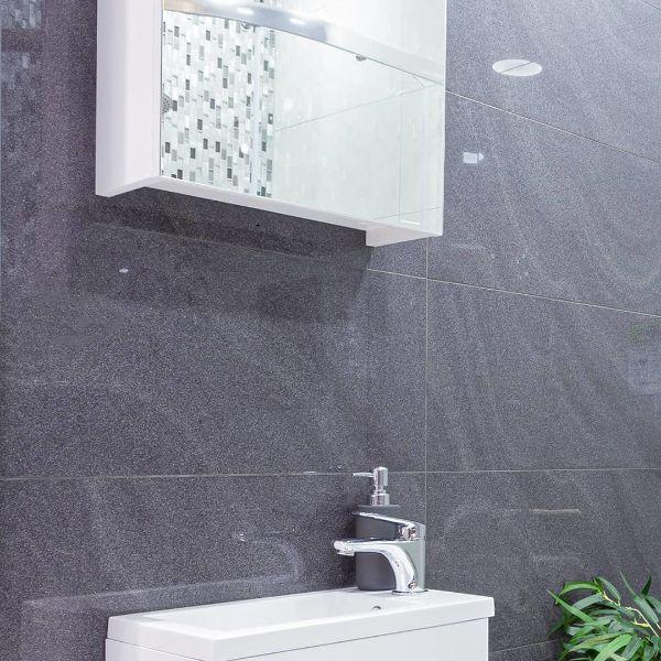 Picture of Sereno Black Polished Tile 60x60 cm