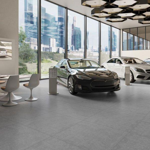 Picture of Lounge Grey Matt Tile 60x60 cm