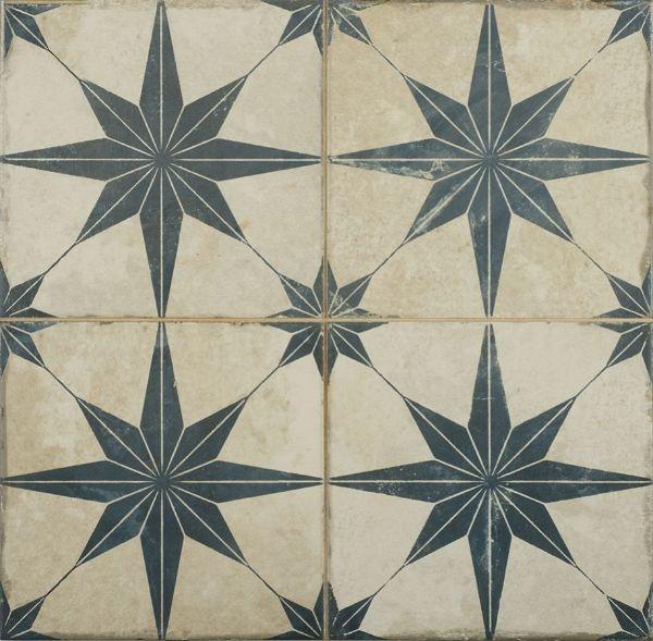Picture of Orient Blue Patterned Tiles 45x45 cm